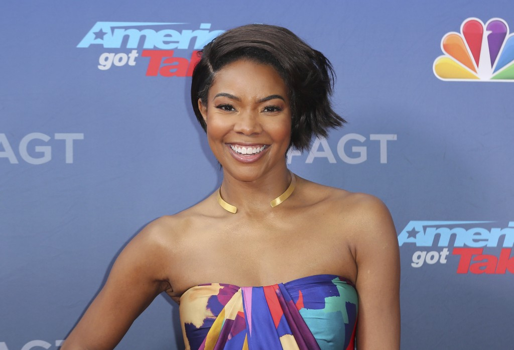 "FILE - This March 11, 2019 file photo shows Gabrielle Union at the ""America's Got Talent"" Season 14 Kickoff in Pasadena, Calif.  Union is thanking sup..."