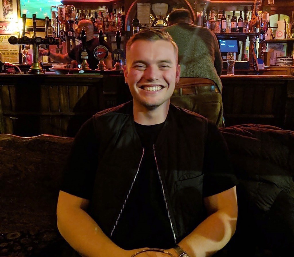 In this undated family photo issued Sunday Dec. 1, 2019, by London's Metropolitan Police showing  Jack Merritt, 25, who has been formally identified b...