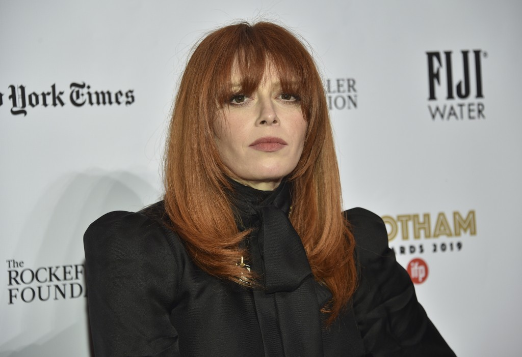 Natasha Lyonne attends the Independent Filmmaker Project's 29th annual IFP Gotham Awards at Cipriani Wall Street on Monday Dec. 2, 2019, in New York. ...