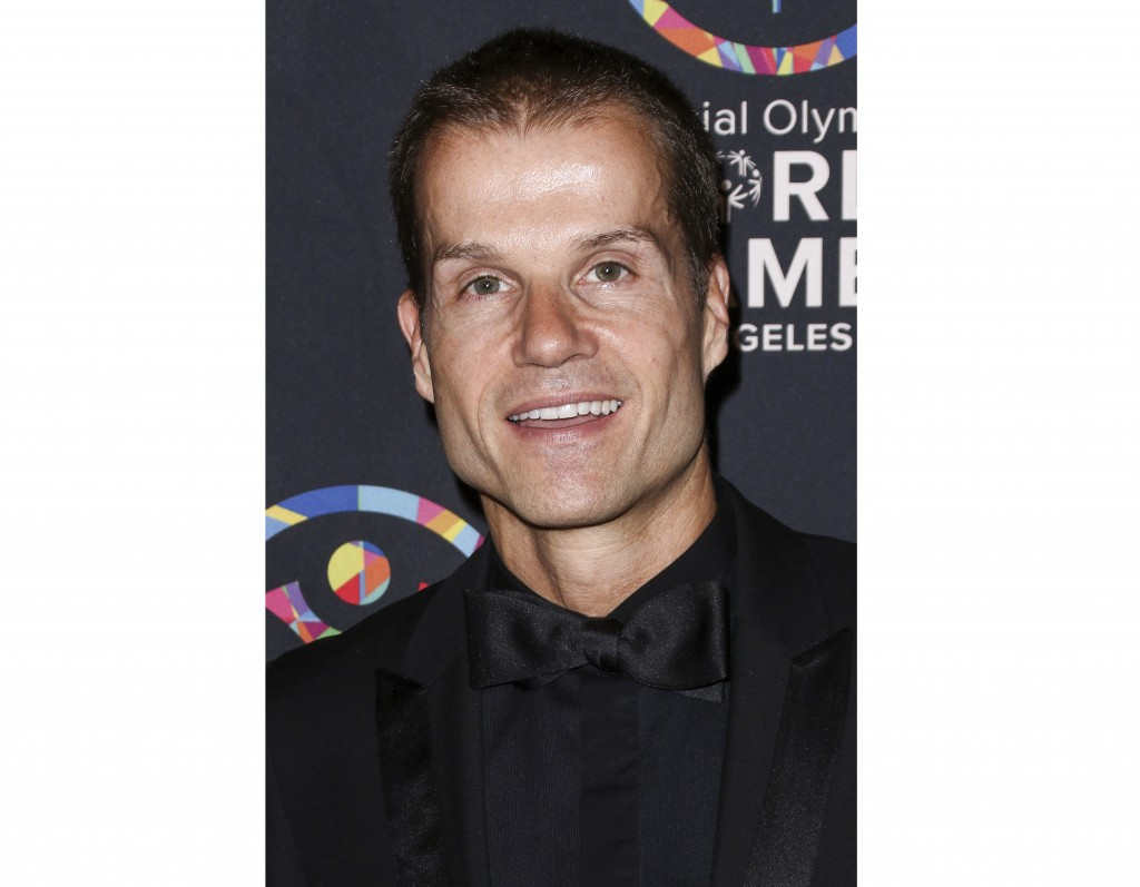 "FILE - This July 31, 2015 file photo shows professional dancer Louis Van Amstel, a former cast member on ""Dancing with the Stars,"" at the 2015 Special..."