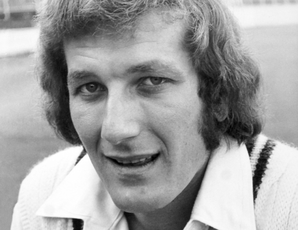 FILE - In this file photo dated July 11, 1974, showing England cricket team captain Bob Willis  Wednesday December 4, 2019. Former England captain and...