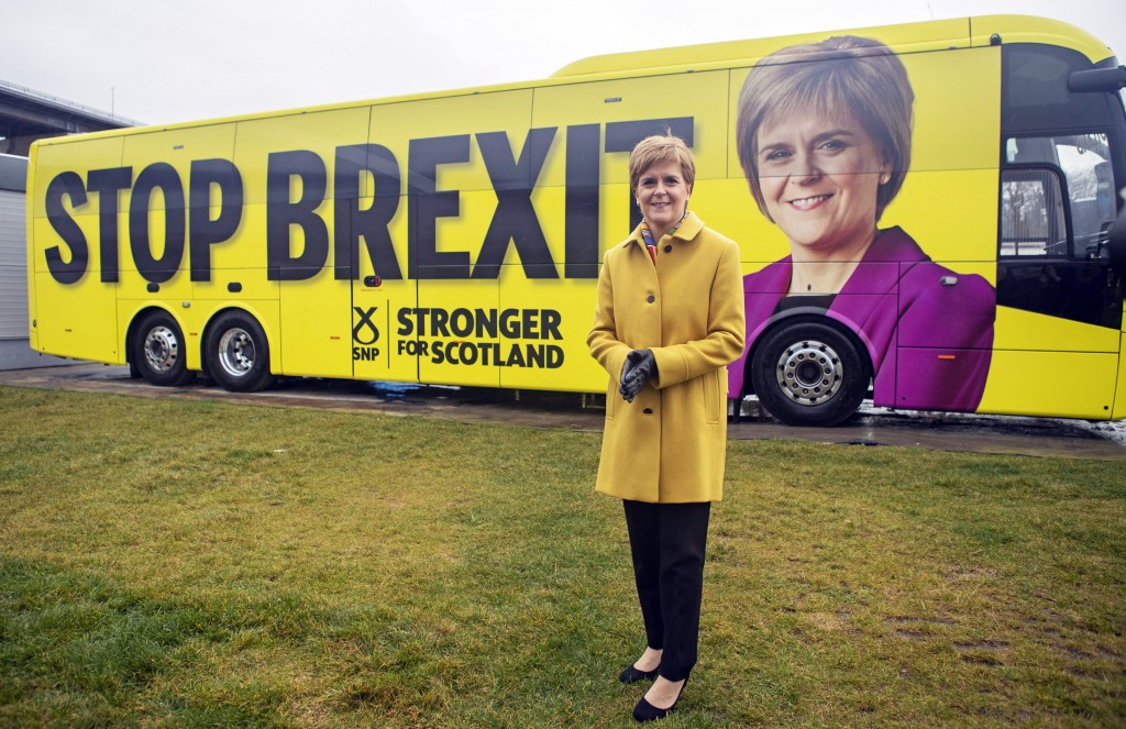New calls in Scotland for an independence referendum to counter Brexit