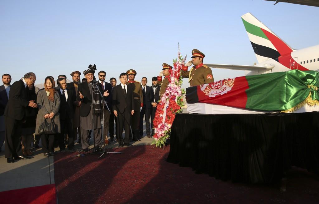 Afghanistan Bids Farewell To Slain Japanese Physician Taiwan News 2019 12 07 21 15 17