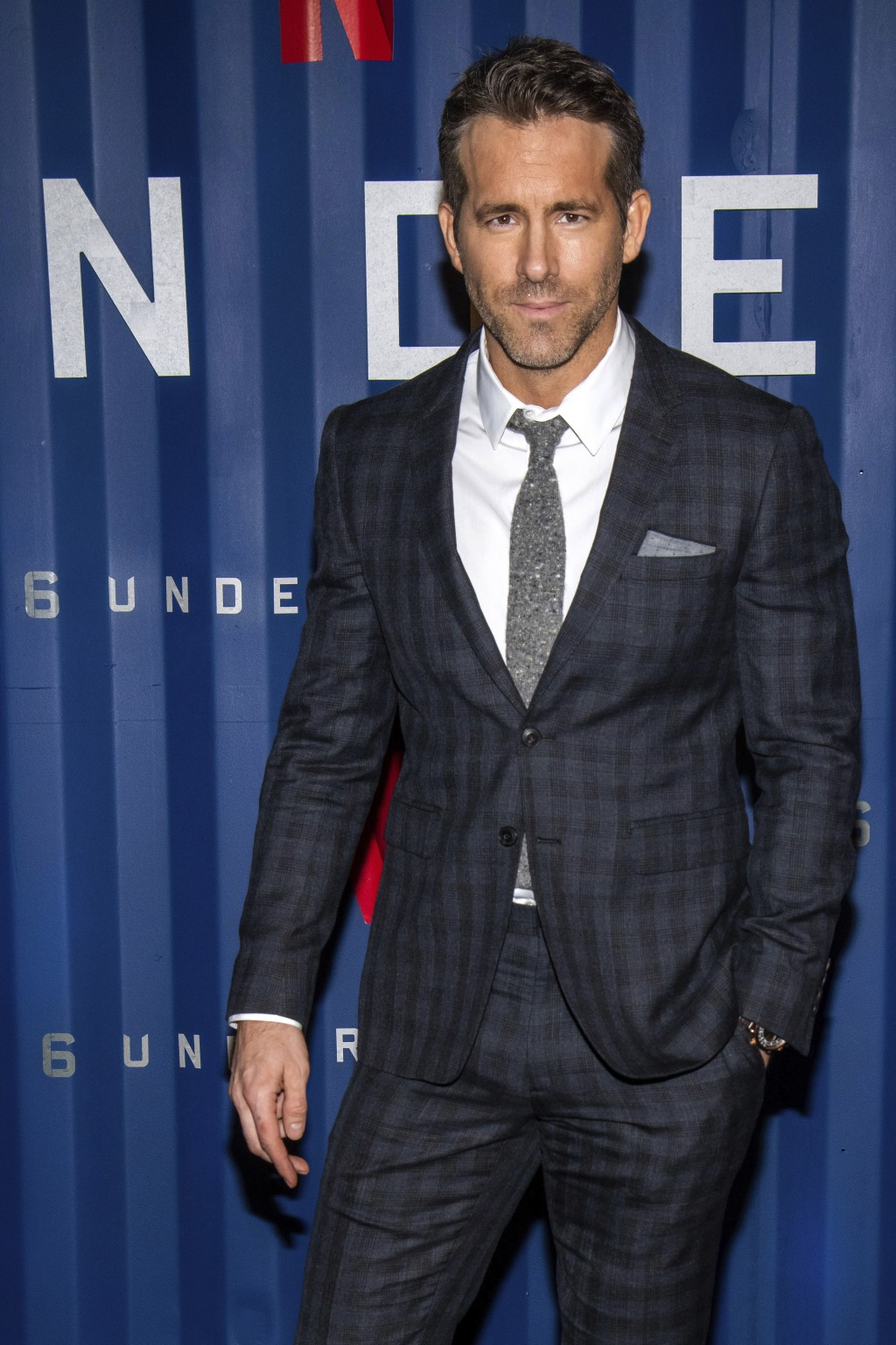 "Ryan Reynolds attends the premiere of Netflix's ""6 Underground"" at The Shed at Hudson Yards on Tuesday, Dec. 10, 2019, in New York. (Photo by Charles ..."