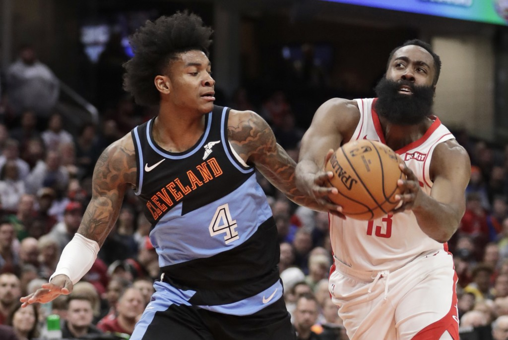 Harden scores 55, Rockets withstand scare from Cavaliers | Taiwan News |  2019/12/12