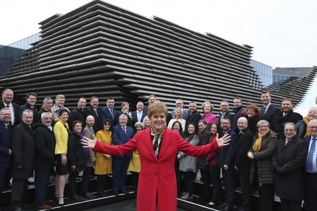 Sturgeon: Growing support for Scotland to choose own future