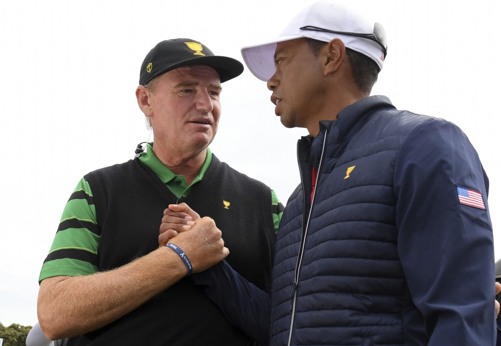 Tiger's body wasn't right at Presidents Cup - Couples