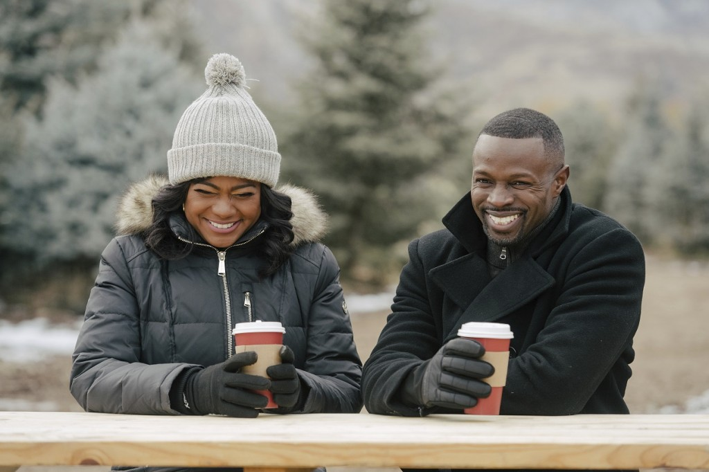 "In this image released by Lifetime, Tatyana Ali, left, and Sean Patrick Thomas, appear in the holiday movie, ""Christmas Hotel."" With the yuletide seas..."