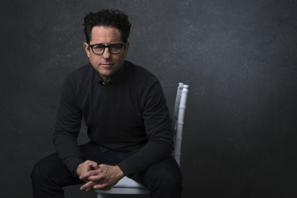 "This Dec. 3, 2019 photo shows writer-director J.J. Abrams posing for a portrait to promote his film ""Star Wars: The Rise of Skywalker"" in Pasadena, Ca..."