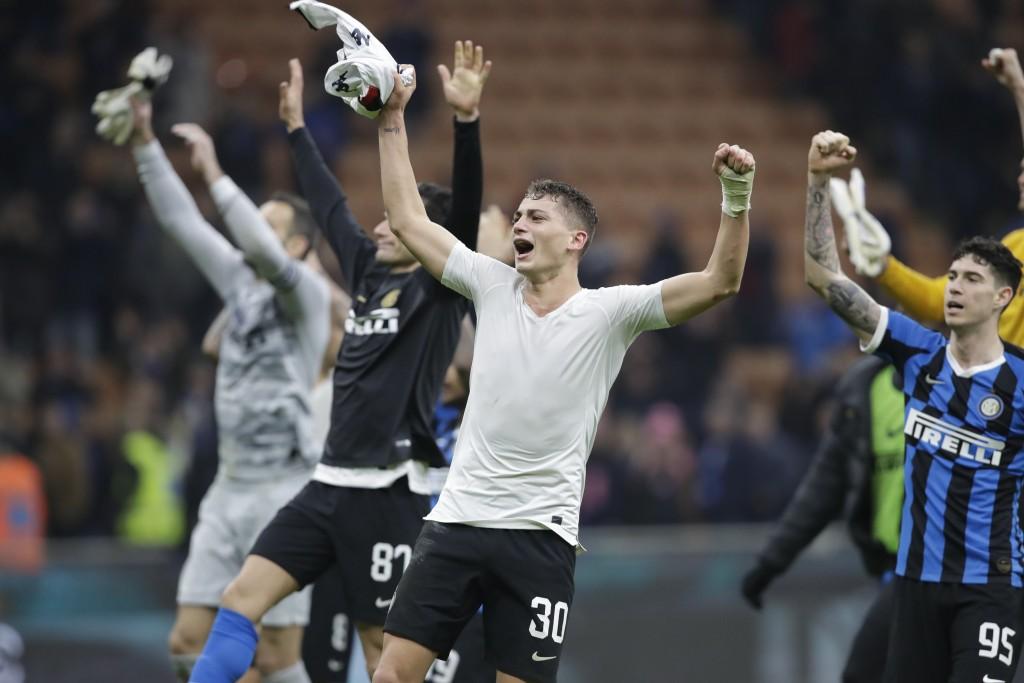 Lukaku Scores 2 As Inter Beats Genoa 4 0 To Go Joint Top Taiwan News 2019 12 22