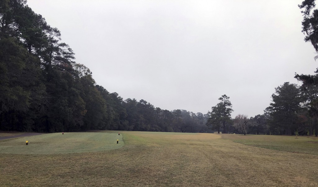 An unmarked cemetery at the Capital City Country Club in Tallahassee, Fla, is shown on Dec. 17, 2019.  The discovery this month of 40 graves _ with pe...