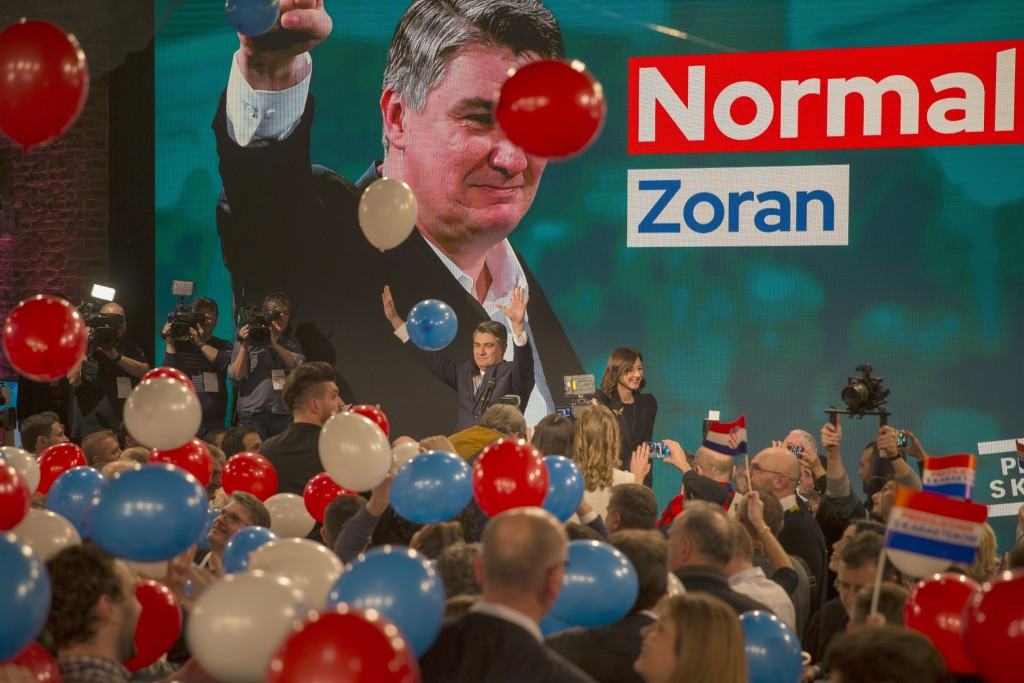 Leftist Ex-PM Wins Croatia Presidential Election