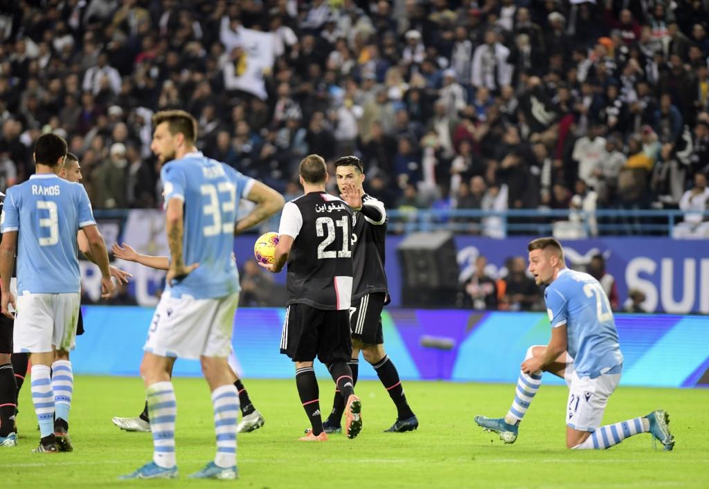 Ronaldo, Dybala, Higuain attack not why Juventus lost Supercoppa - Sarri