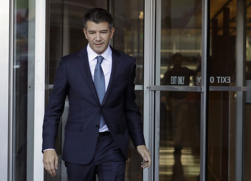 Uber founder Kalanick leaves board of directors