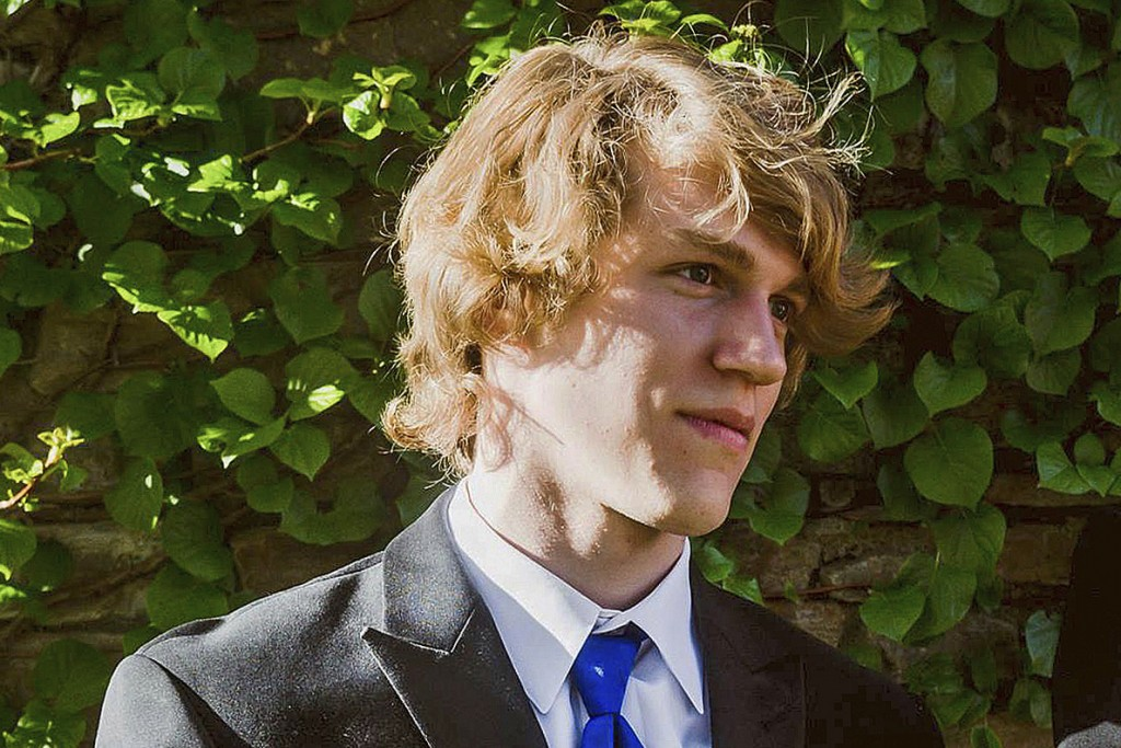 FILE - This undated file photo provided by Matthew Westmoreland shows Riley Howell. The North Carolina college student hailed by police as a hero for ...