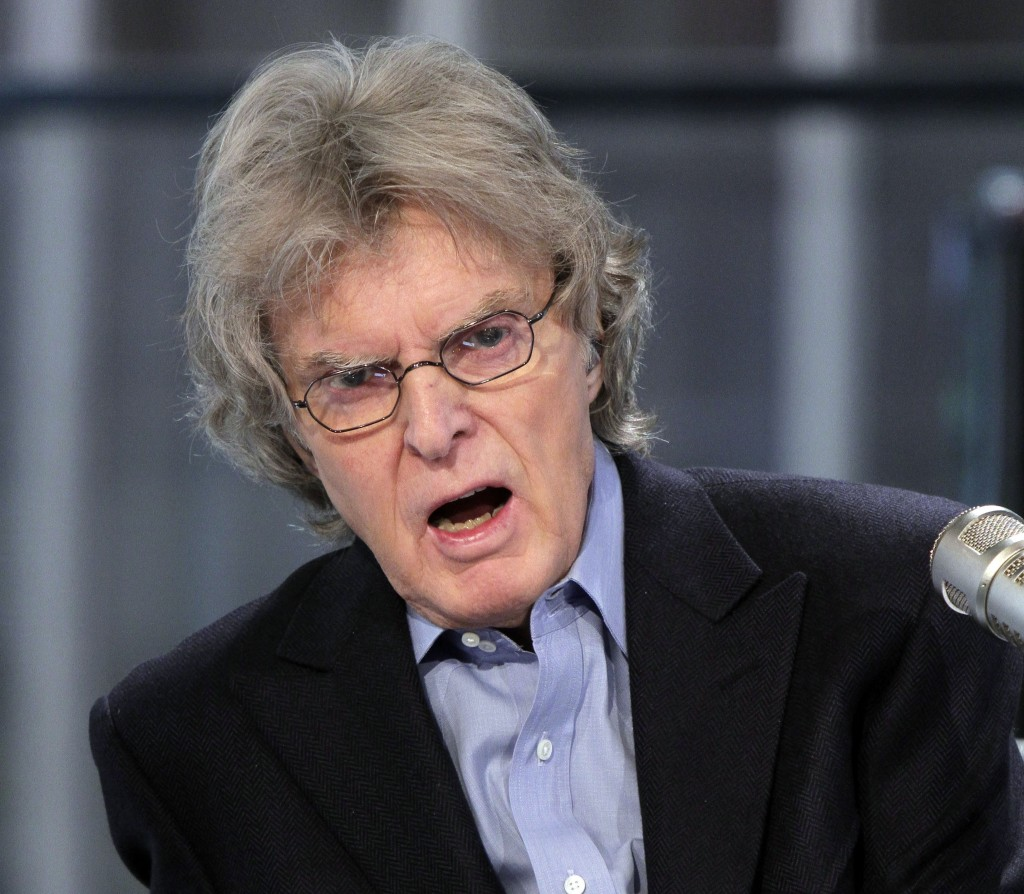 """FILE - In this Tuesday, Feb. 8, 2011 file photo, Radio and television personality Don Imus on his """"Imus in the Morning"""" program on the Fox Business Ne..."""