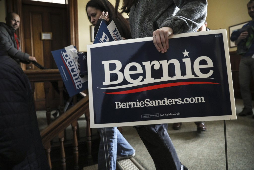 Sanders raises impressive $34.5M in 2019's final quarter