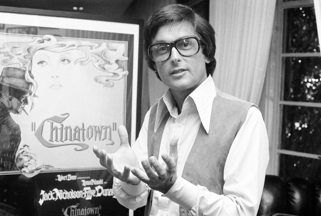 """Paramount Pictures production chief Robert Evans talks about his film """"Chinatown"""" in his office in Beverly Hills, Calif., in 1974. Evans, who helped s..."""