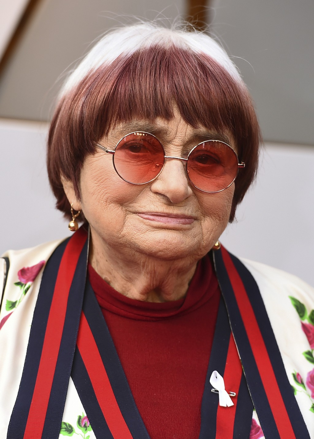Filmmaker Agnes Varda arrives at the Oscars in Los Angeles on March 4, 2018. The French New Wave pioneer who for decades beguiled, challenged and char...