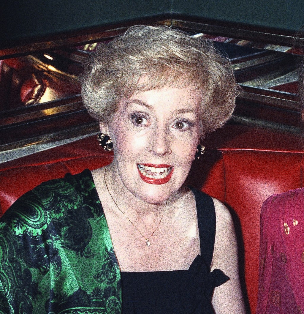 """Actress Georgia Engel, who played Georgette on """"The Mary Tyler Moore Show"""" appears at the Russian Tea Room in New York on Aug. 30, 1992.  Engel, who a..."""