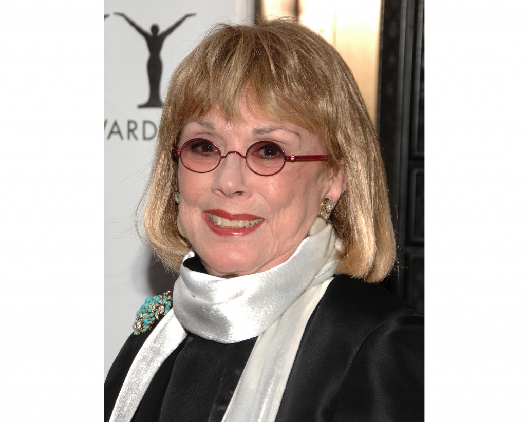 Actress Phyllis Newman arrives at the 63rd Annual Tony Awards in New York on June 7, 2009. Newman, a Tony Award-winning Broadway veteran who became th...
