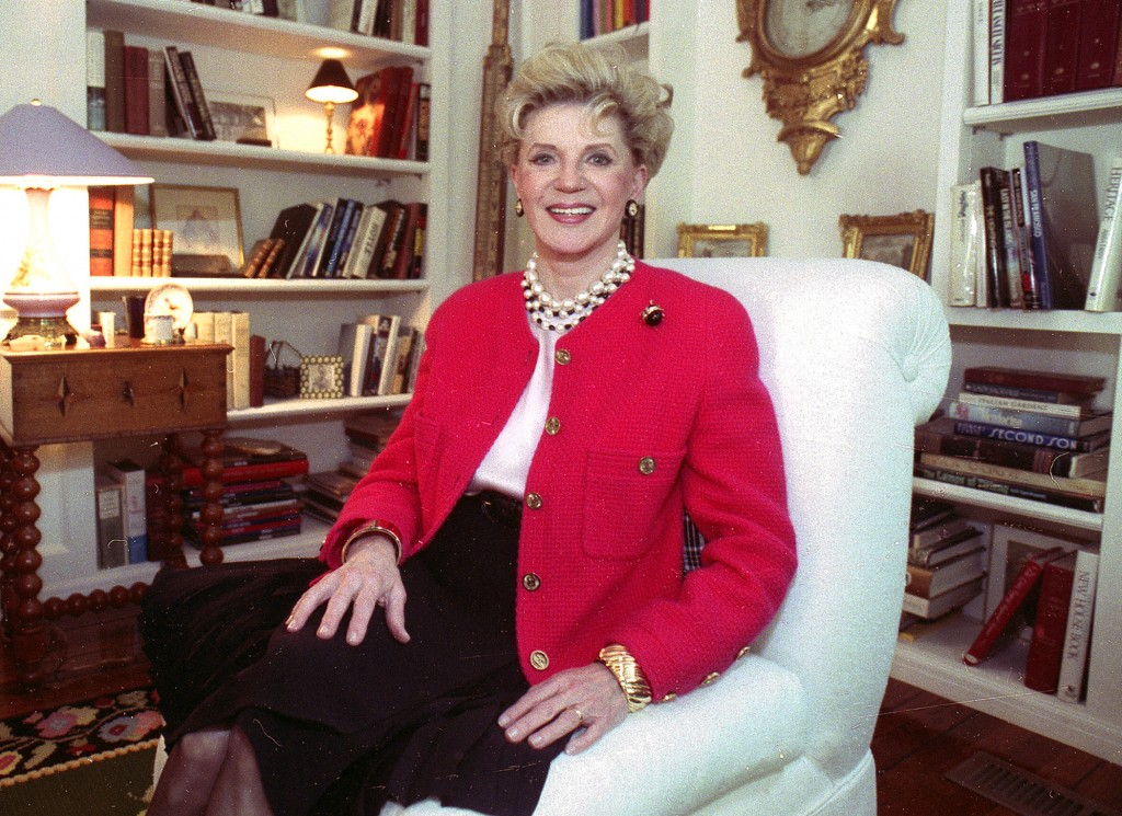 """Author Judith Krantz during an interview at her home in the Bel Air section of Los Angeles. Krantz, whose million-selling novels such as """"Scruples"""" an..."""