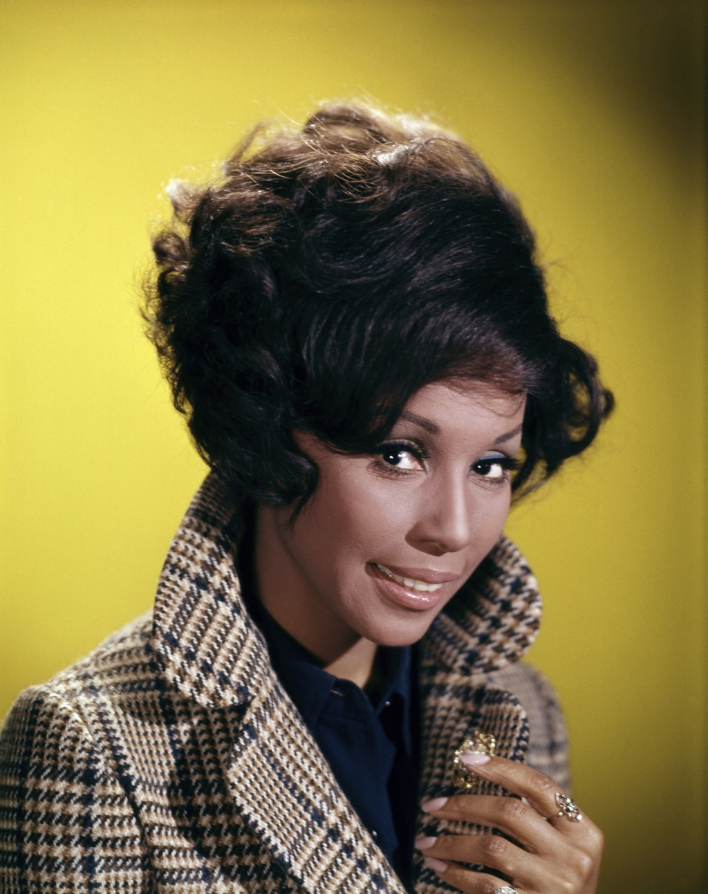This 1972 image shows singer and actress Diahann Carroll. The Oscar-nominated actress who won critical acclaim as the first black woman to star in a n...