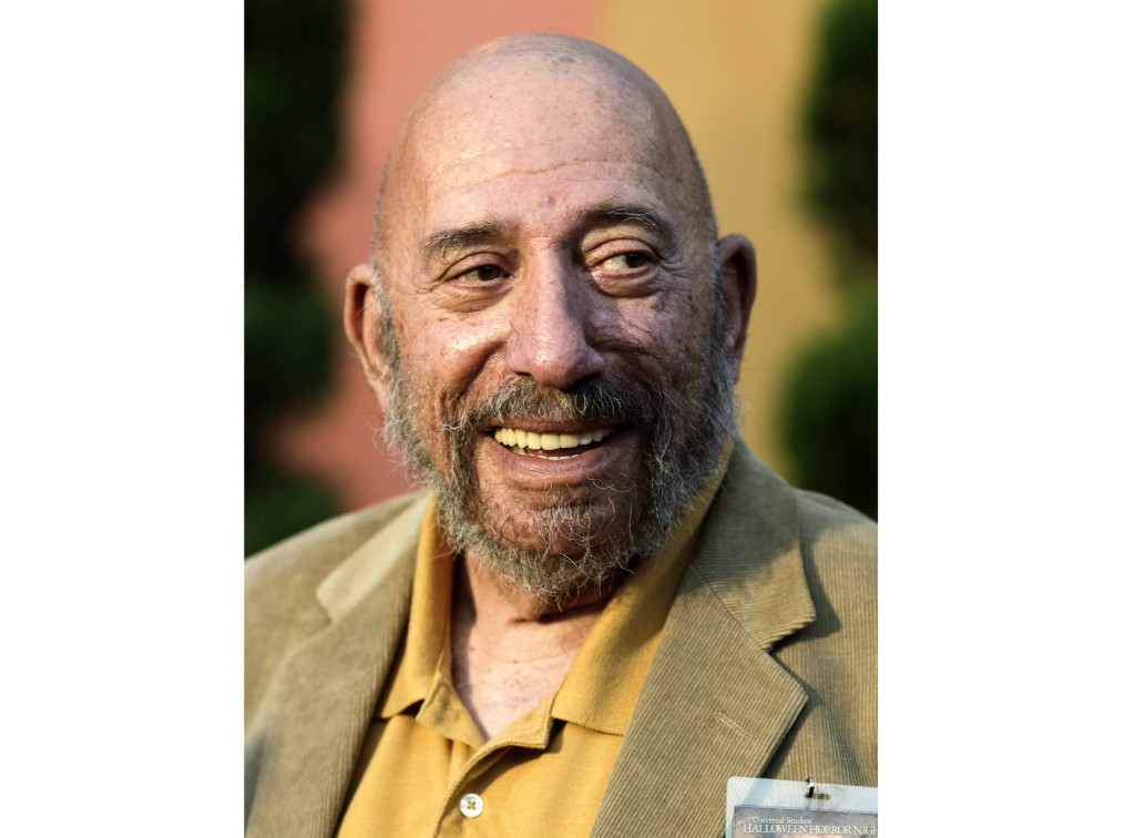 """Actor Sid Haig appears at Universal Studios Hollywood to celebrate """"Halloween Horror Nights"""" on Sept. 23, 2011. Haig, the bearded character actor best..."""