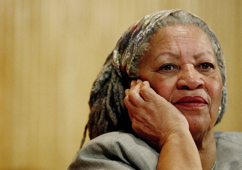 Author Toni Morrison attends a conference at the Guadalajara's University in Guadalajara City, Mexico on Nov. 25, 2005. The pioneer and reigning giant...