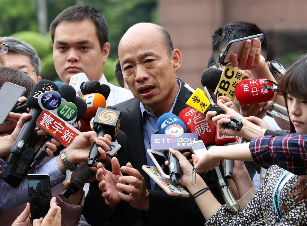 Kaohsiung Mayor Han Kuo-yu (Source: CNA/ File photo)