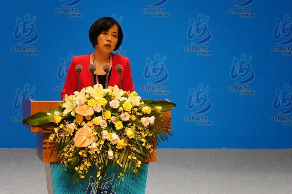 海峽論壇演說 黃智賢稱一國兩制是對台灣的尊重
