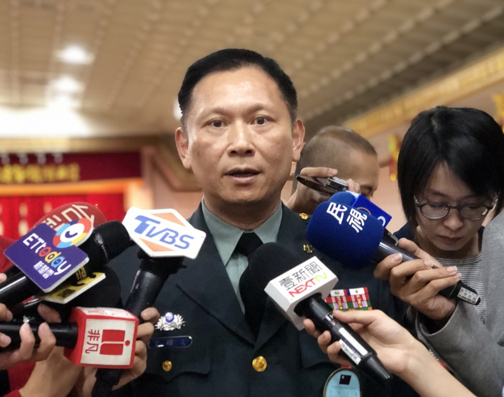 Taiwan's Defense Ministry Spokesperson Shih Shun-wen (Source: CNA/ File photo)
