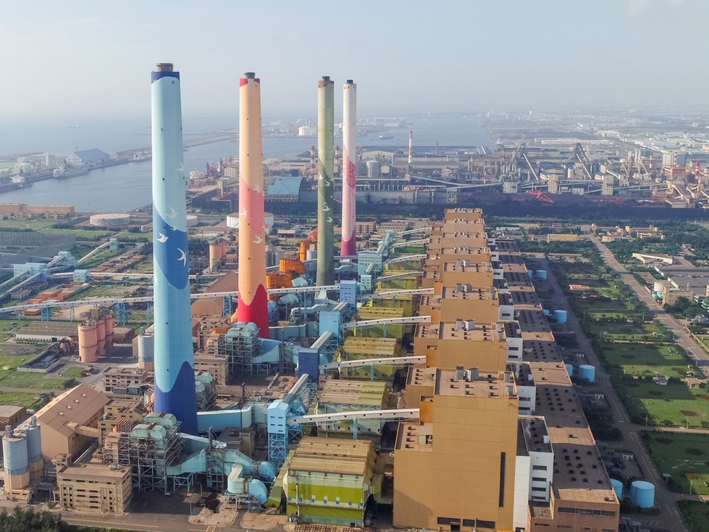 Coal-fired power plants in Taichung, Taiwan