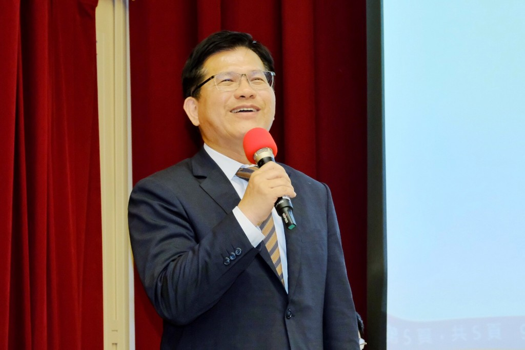 Lin Chia-lung, minister of Transportation and Communications (Source: CNA/ File photo)