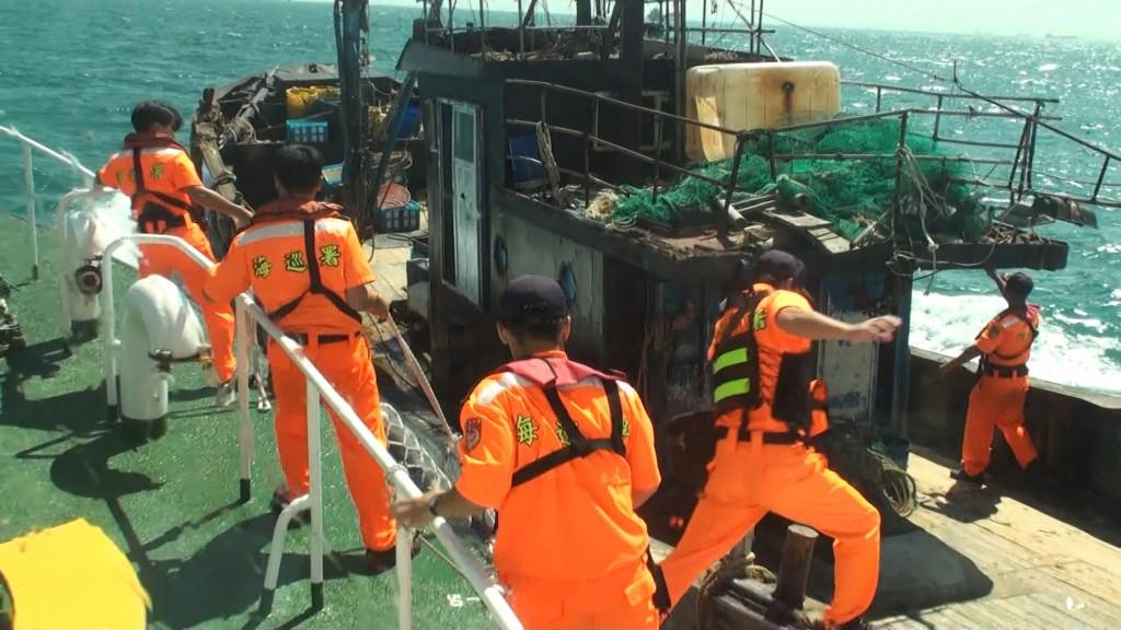 Matsu's Coast Guard has pledged to impose severe punishment for trespassing. (photo: CNA)