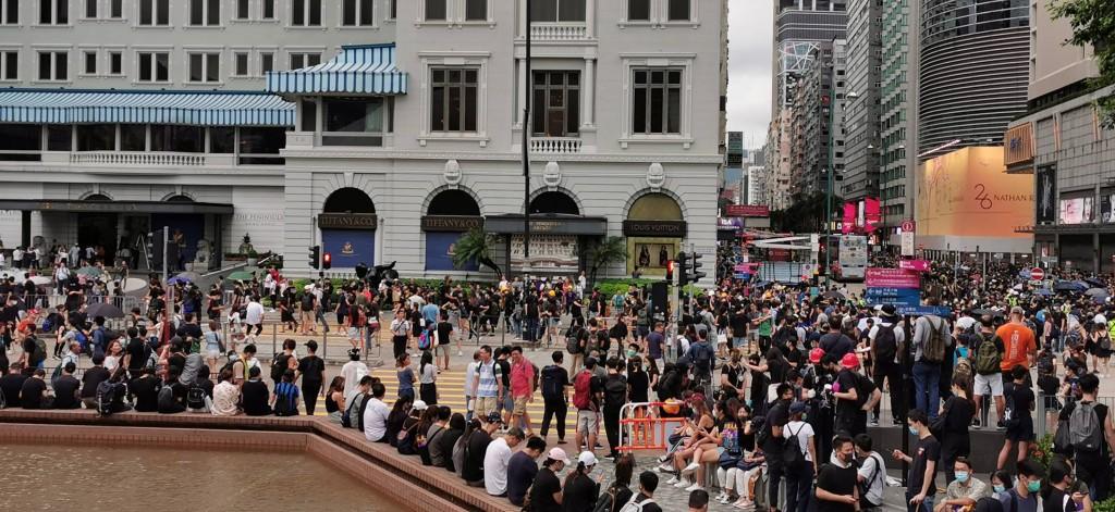 Hong Kong's Tsim Sha Tsui area