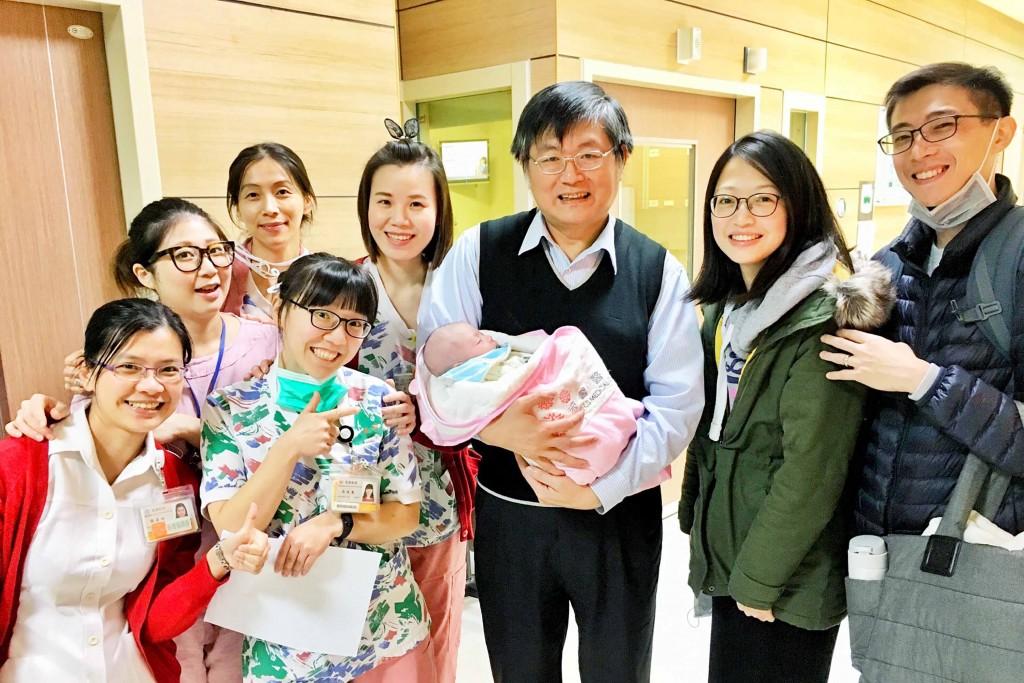 Pregnant woman gets liver transplant (CNA photo)