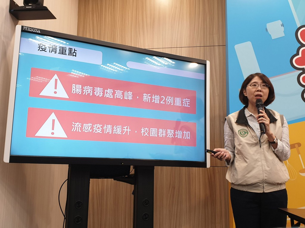 Enterovirus cases continue to increase in Taiwan (CNA photo)