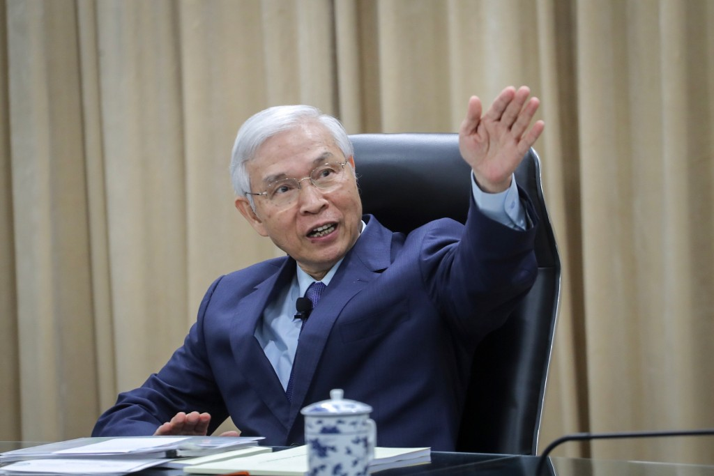 Central Bank Governor Yang Chin-long.