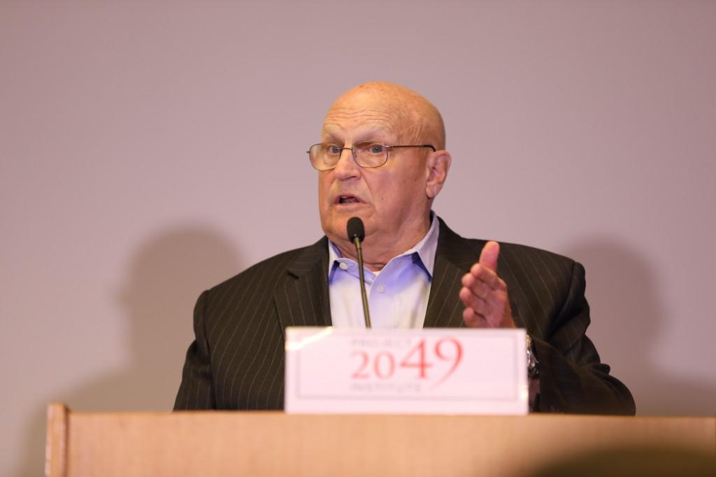 Richard Armitage, former U.S. Deputy Secretary of State (CNA photo)