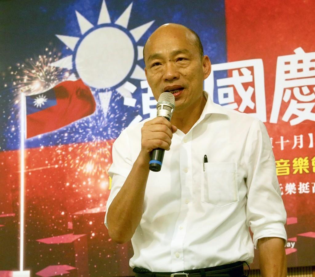 Han Kuo-yu (CNA photo)