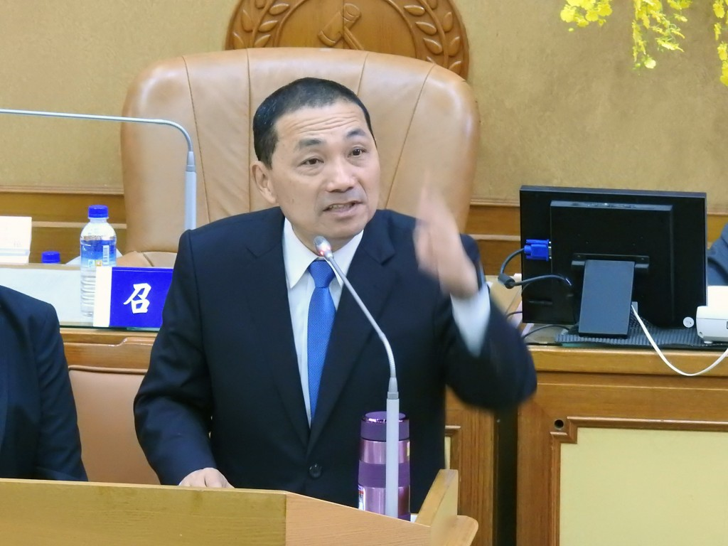 New Taipei City Mayor Hou You-yi. (CNA photo)