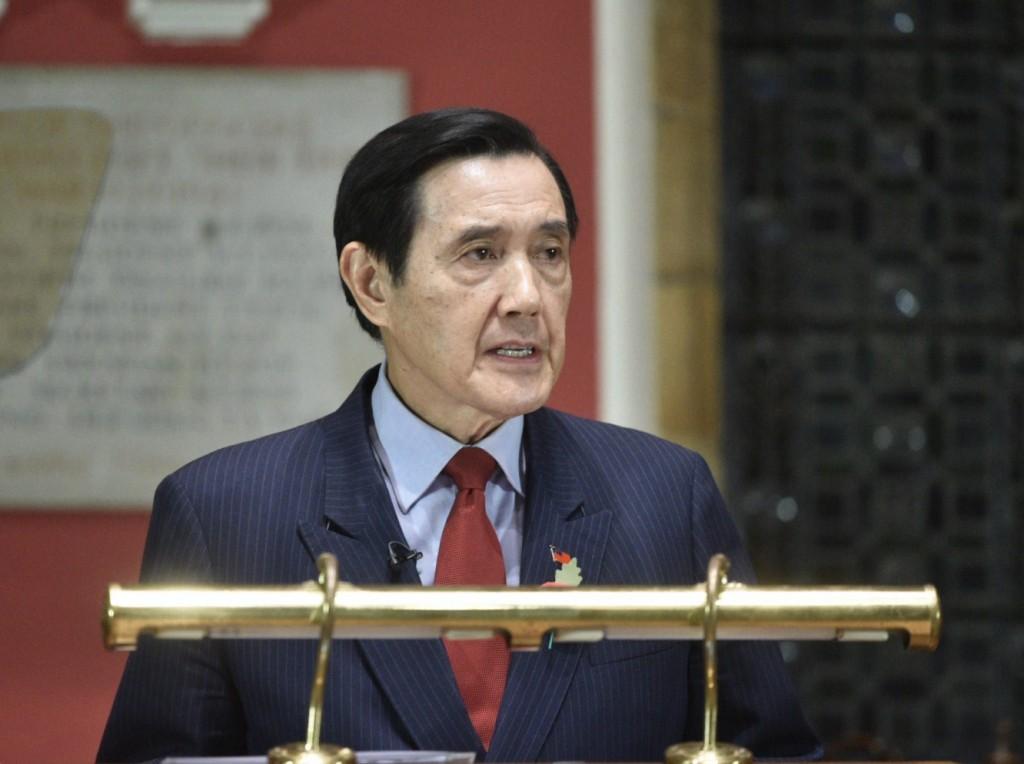 前總統馬英九(牛津辯論社提供)