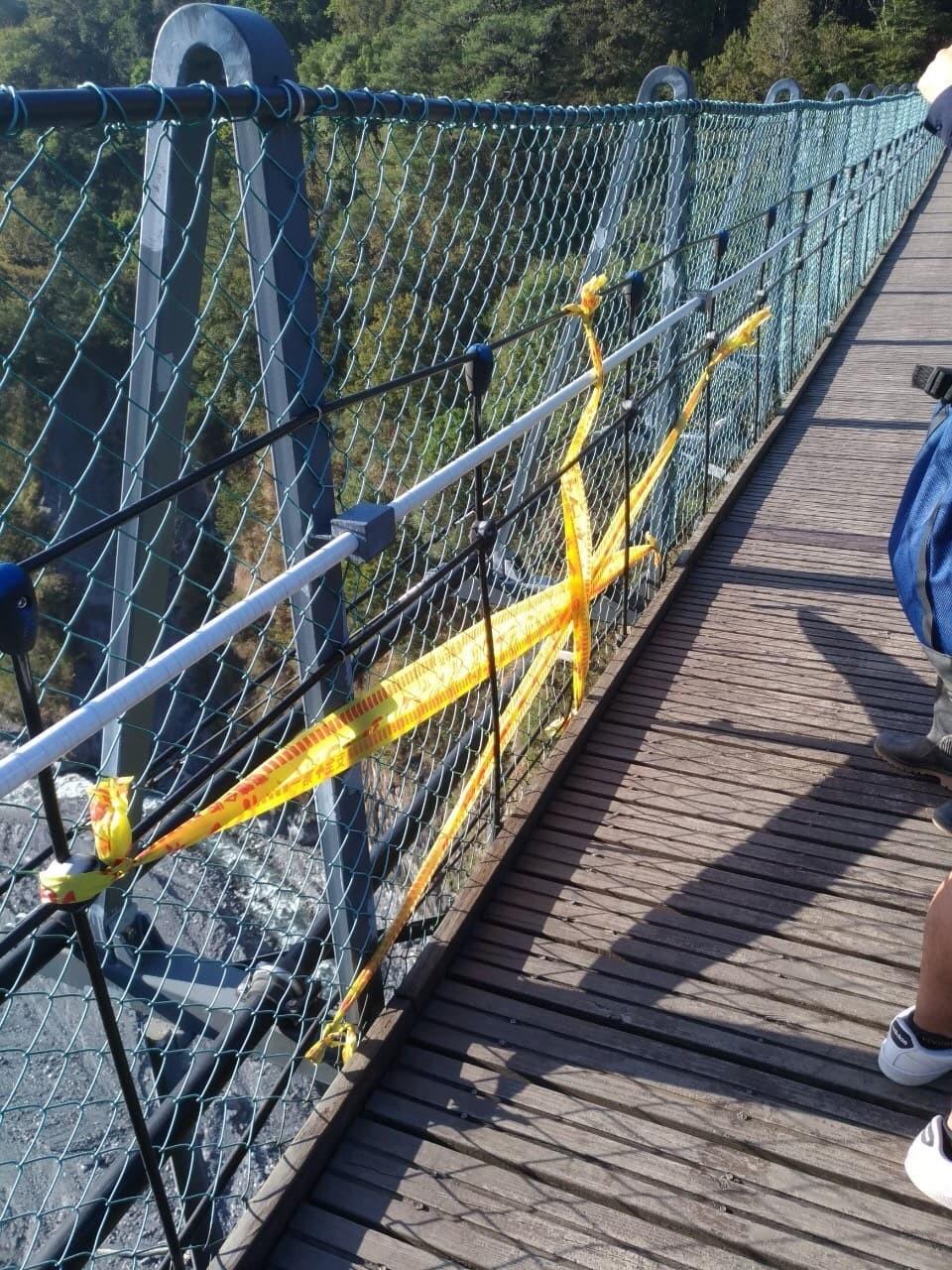 2-year-old falls to his death through gap in central Taiwan bridge