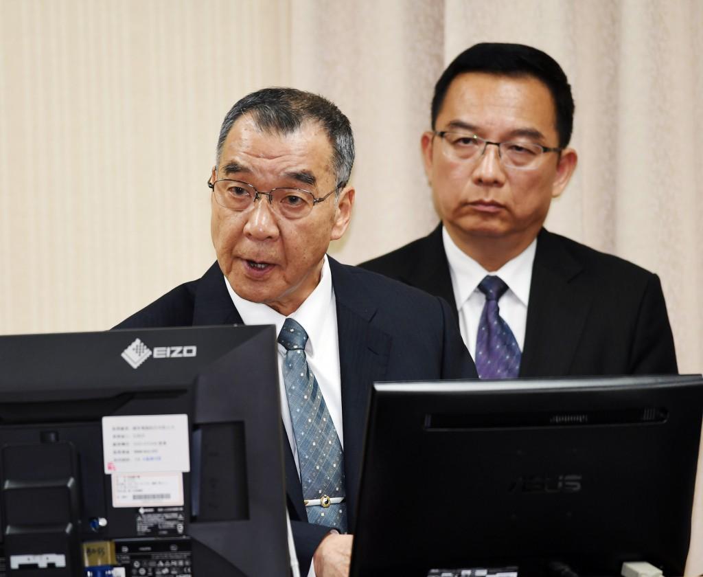 Director-General of National Security Bureau Chiu Kuo-cheng.