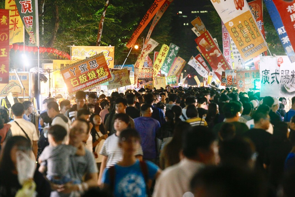 A night market in Kaohsiung.
