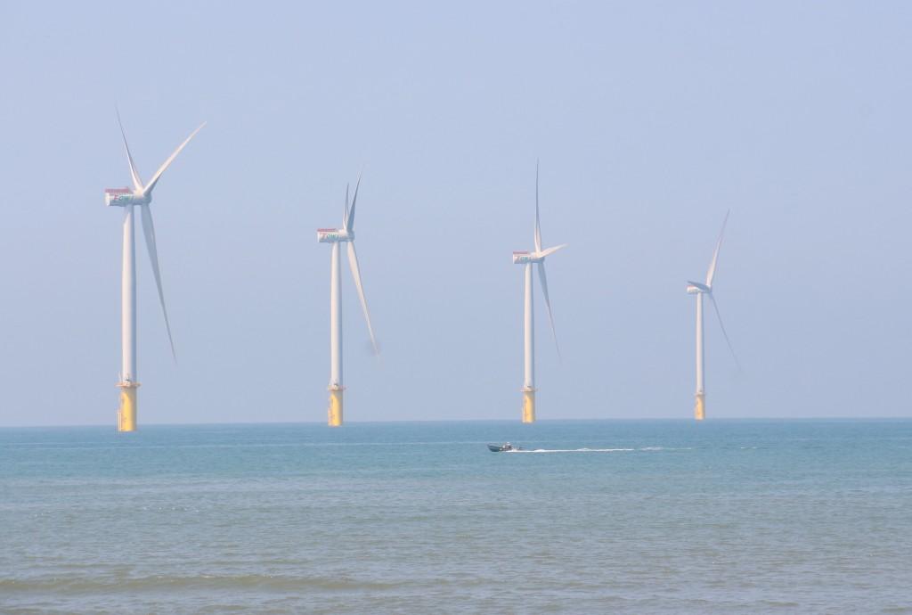 台灣近年與歐盟企業合作,積極發展離岸風電