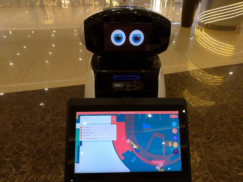 菲律賓大型購物中心引進台灣製造的AI機器人