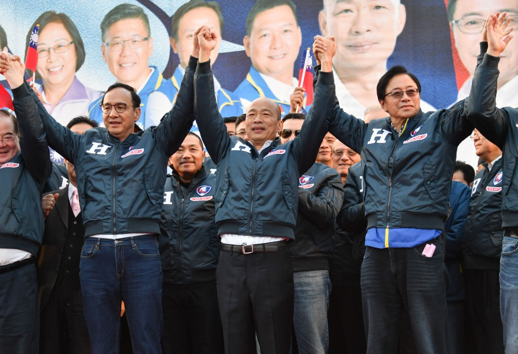 KMT presidential candidate Han names former rival Chu chief campaign manager.