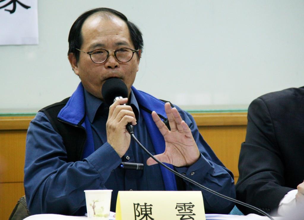 Ex HK official Chin Wan.